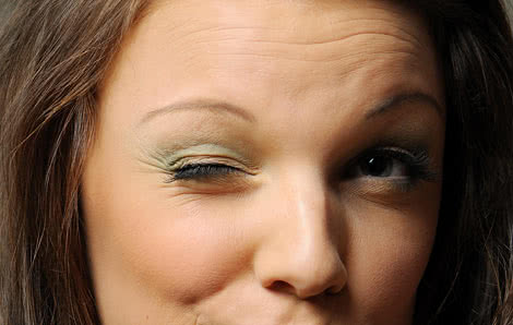 eye twitching: causes & stopping it (blepharospasm), Skeleton